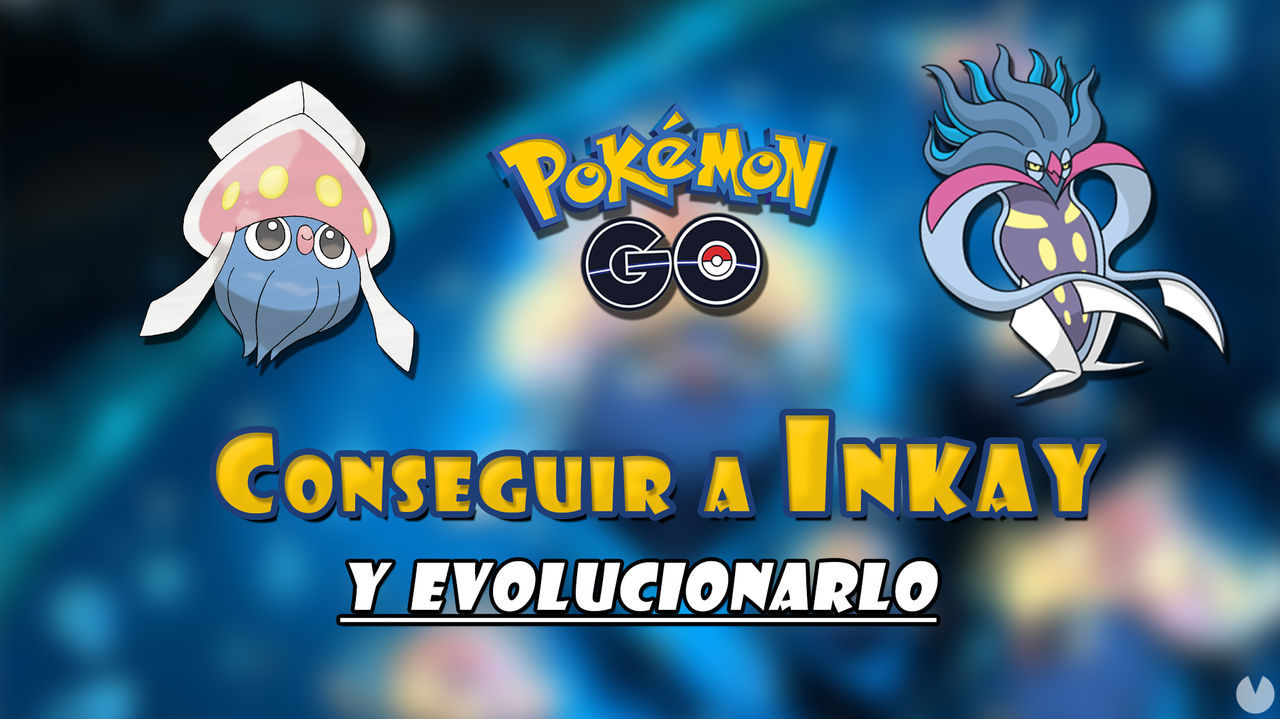 Pokémon GO: ¿Cómo conseguir a Inkay y evolucionarlo en Malamar? Ya disponibles