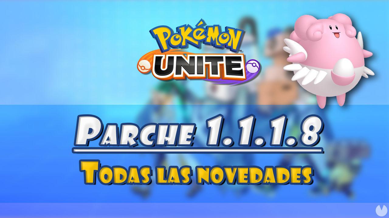 Pokémon Unite: Blissey recibe mejoras en el último parche y otros ajustes