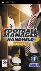 Car�tula oficial de de Football Manager Handheld 2009 para PSP