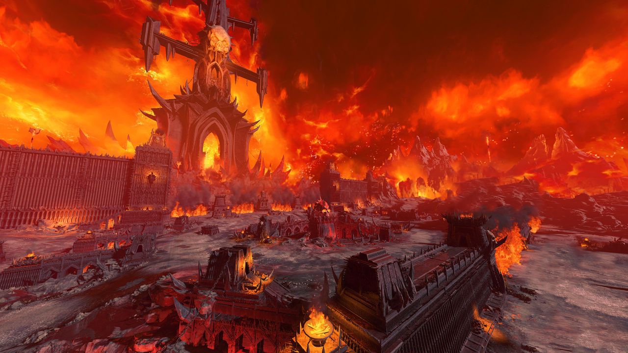 Total War: Warhammer 3 presenta el reino de Khorne