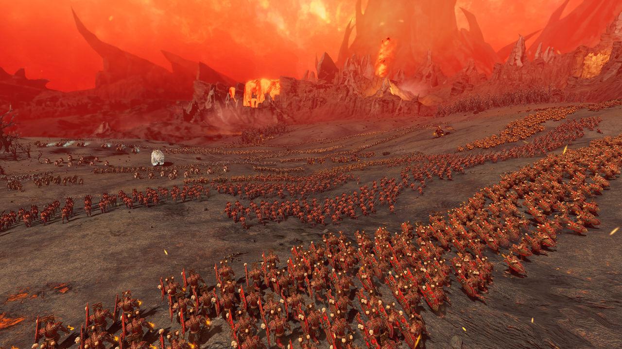 Total War: Warhammer 3 presenta el infernal mundo de Khorne en un nuevo tráiler