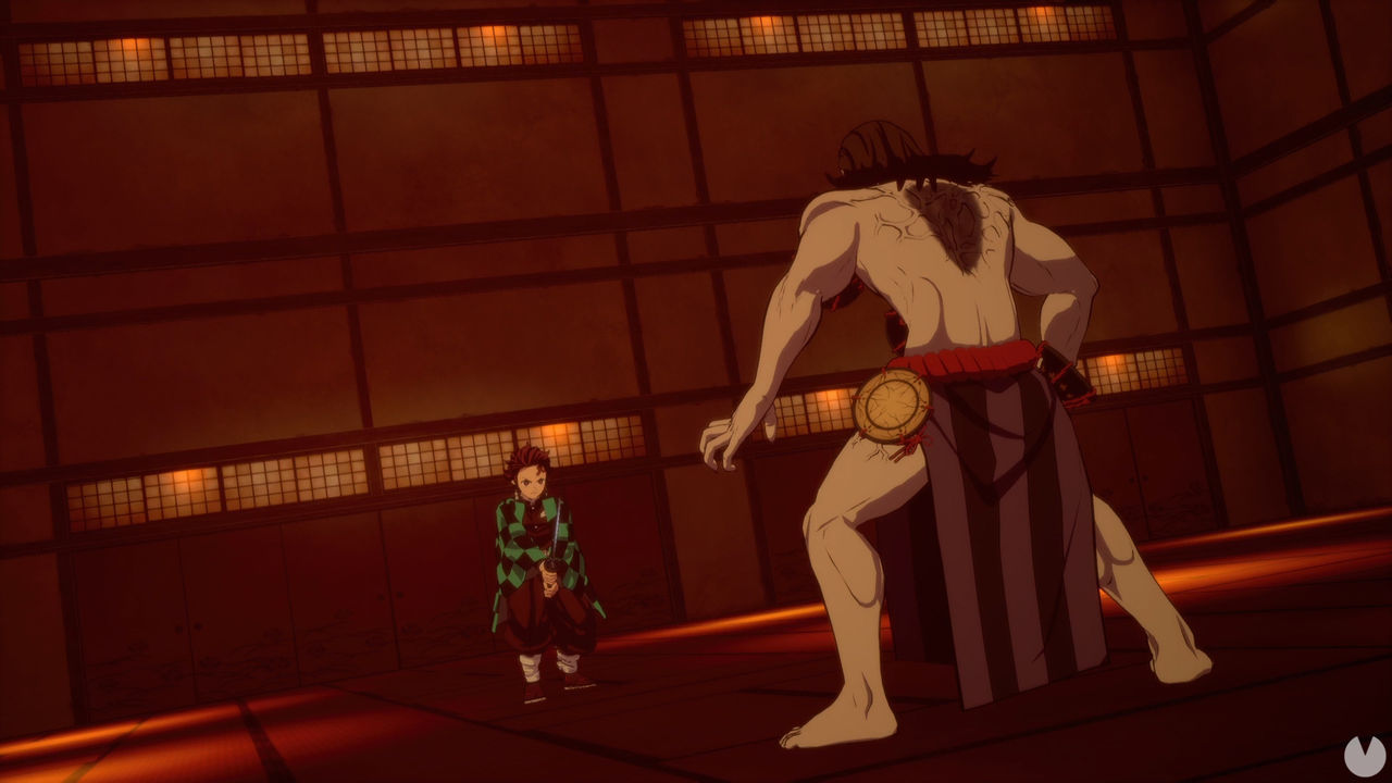 El juego de Demon Slayer nos muestra una de las escenas más épicas de su anime