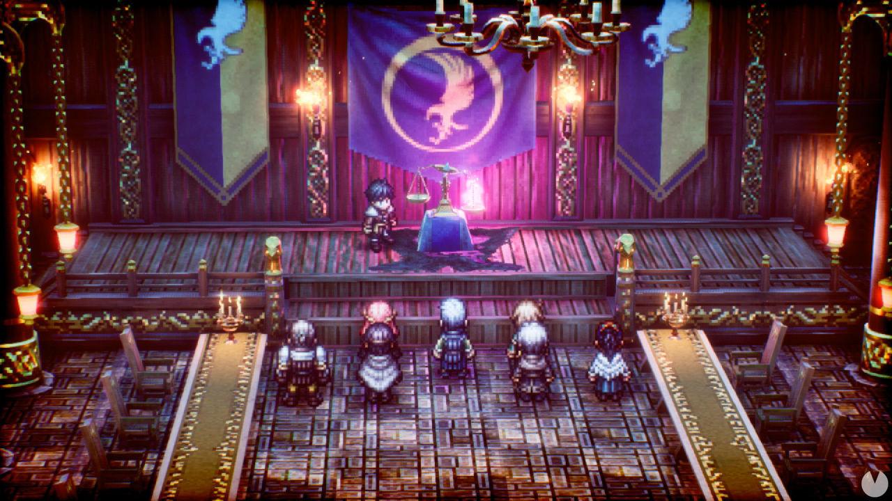 Triangle Strategy, el RPG con gráficos HD-2D de Square Enix, llega el 4 de marzo a Switch