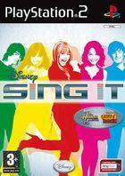 Carátula Disney's Sing It para PlayStation 2
