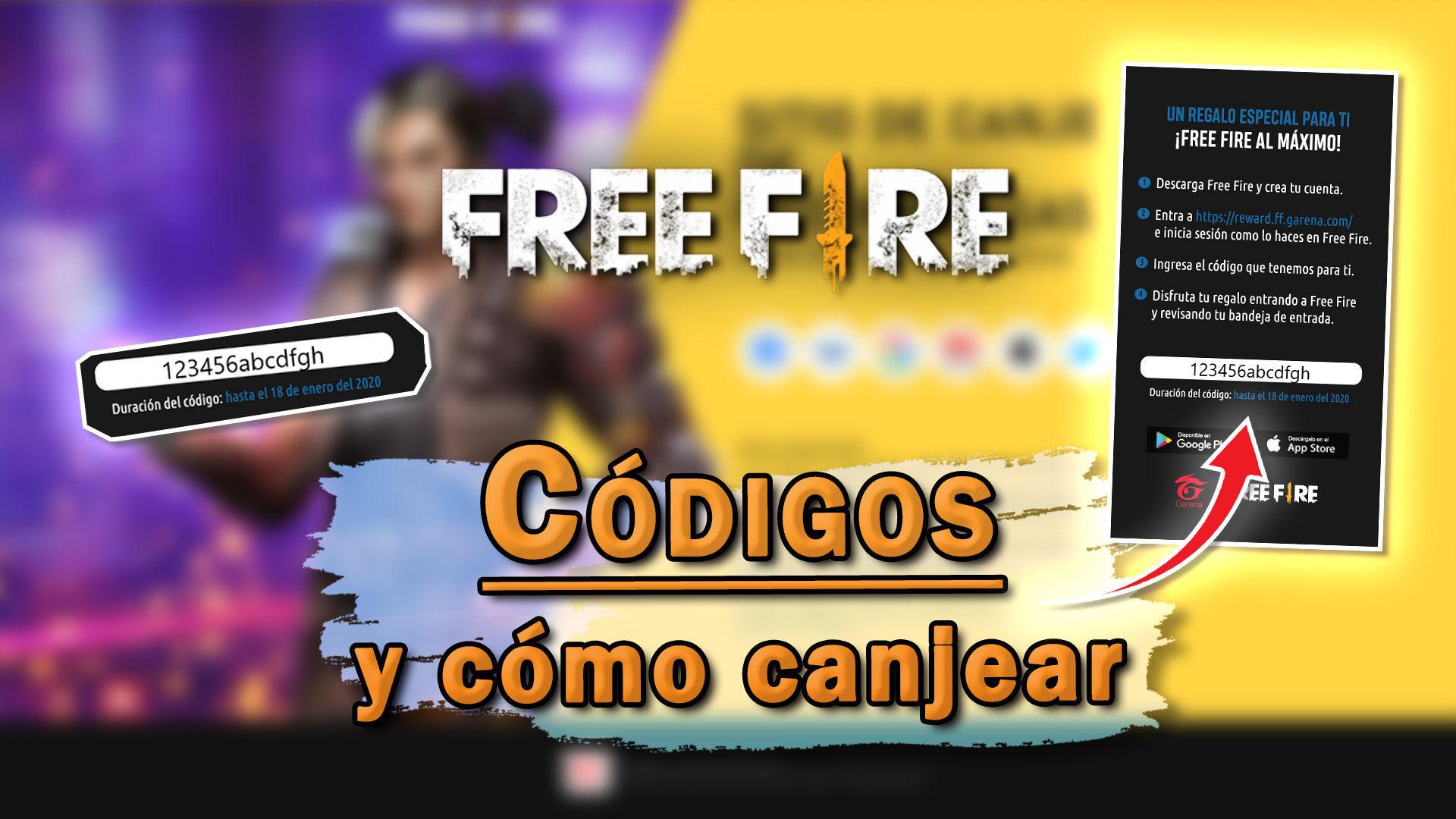 Free Fire Todos Los Codigos De Recompensas Gratis Marzo 2021
