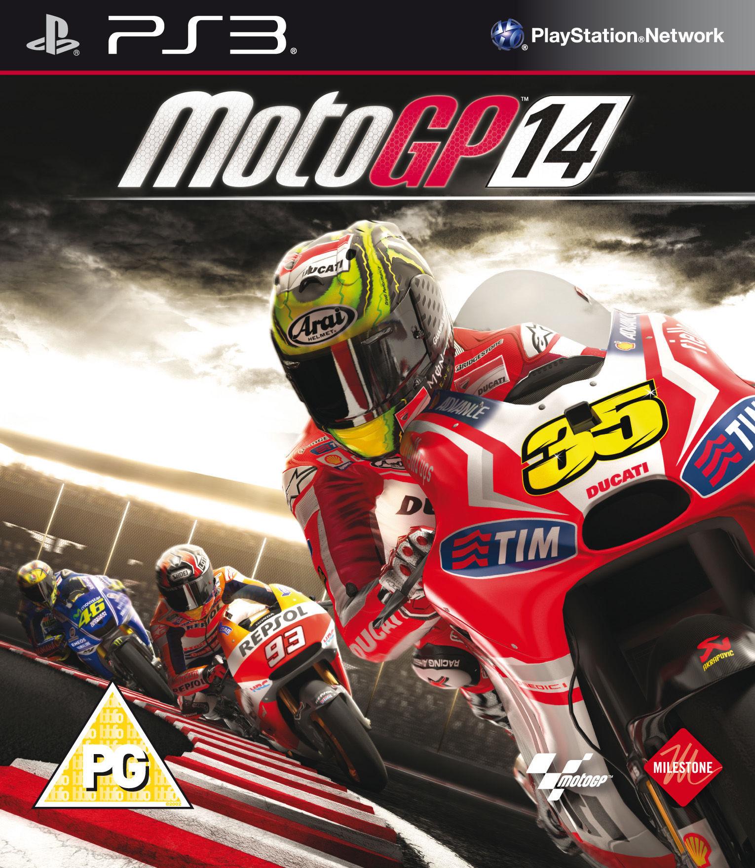 MOTO GP 2014 PS3 SEMINUEVO