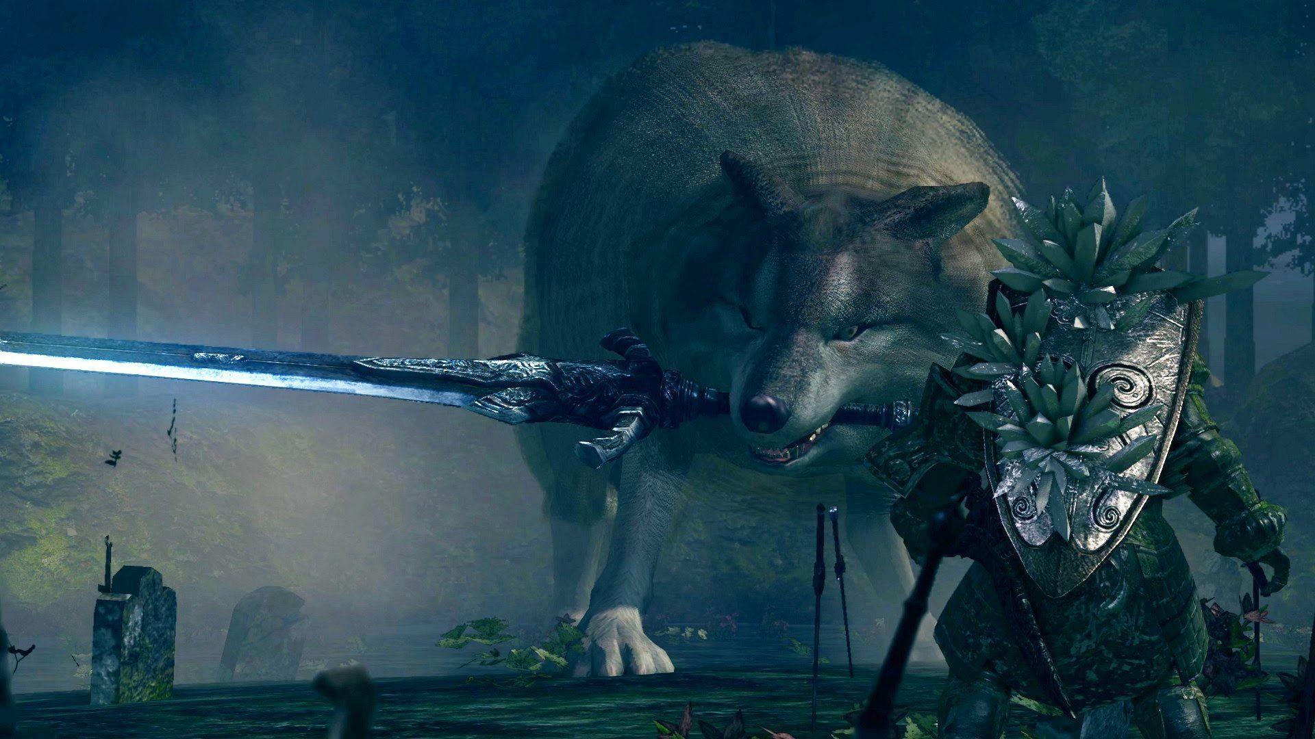 Sif El Gran Lobo Gris En Dark Souls Remastered Cómo