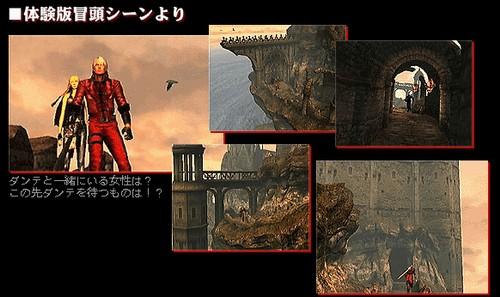 Nuevas imágenes de la Demo de Devil May Cry