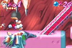 Rayman Advance, también multijugador