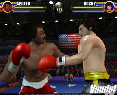 Nuevas imágenes de Rocky