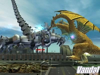 Primeras imágenes de Godzilla en Xbox