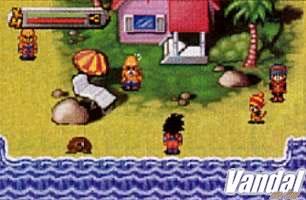 Primeras imágenes y detalles de Dragon Ball Z en GBA