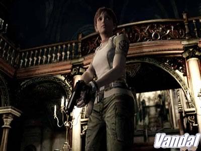 Resident Evil GCN: Rebecca Chambers