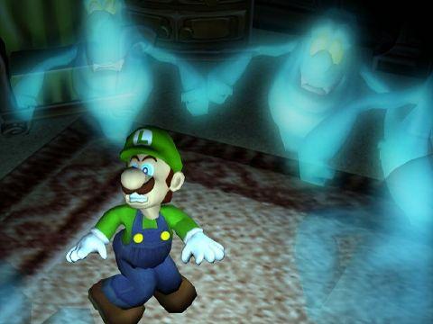 Luigi's Mansion, confirmado para Gamecube