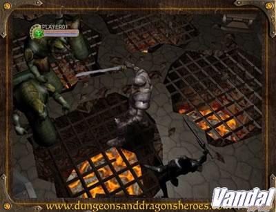 Primeras imágenes de Dungeons & Dragons Heroes