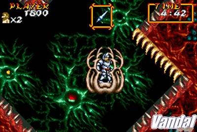 Primeras imágenes de Super Ghouls 'n' Ghosts en GBA