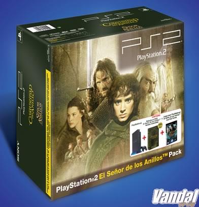 Sony presenta el pack definitivo PS2+El Señor de los Anillos
