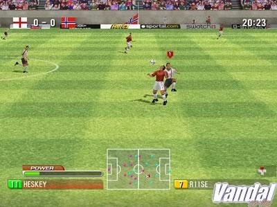 ECTS: 90 Minutes, el nuevo fútbol de Dreamcast