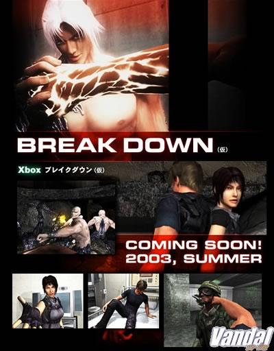 Namco confirma Break Down para Xbox
