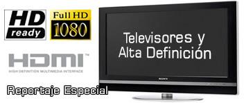 Televisores y Alta Definición