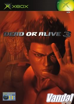 Portada oficial de Dead or Alive 3 para Xbox