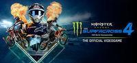 Portada oficial de Monster Energy Supercross 4 para PC