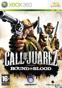Portada oficial de Call of Juarez: Bound in Blood para Xbox 360