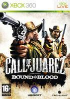 Portada oficial de de Call of Juarez: Bound in Blood para Xbox 360