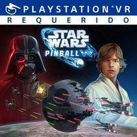 Portada oficial de Star Wars Pinball VR para PS4