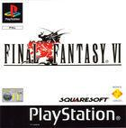 Portada oficial de de Final Fantasy VI para PS One