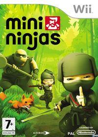 Portada oficial de Mini Ninjas para Wii