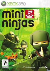 Portada oficial de Mini Ninjas para Xbox 360
