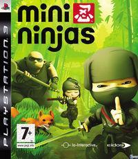 Portada oficial de Mini Ninjas para PS3