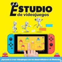 Portada oficial de Estudio de videojuegos para Switch