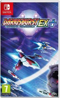 Portada oficial de Dariusburst Another Chronicle EX+ para Switch