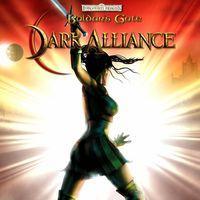 Portada oficial de Baldur's Gate: Dark Alliance para PS4