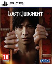 Portada oficial de Lost Judgment para PS5