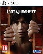 Portada oficial de de Lost Judgment para PS5
