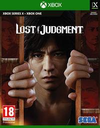Portada oficial de Lost Judgment para Xbox Series X/S