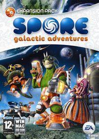 Portada oficial de Spore: Aventuras Galácticas para PC