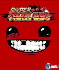 Portada oficial de Super Meat Boy para PC