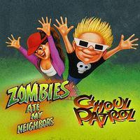 Portada oficial de Zombies Ate My Neighbors and Ghoul Patrol para Switch