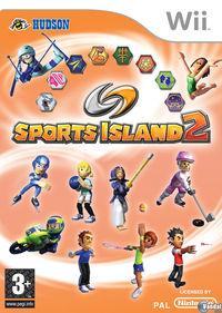 Portada oficial de Sports Island 2 para Wii