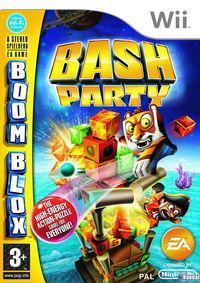 Portada oficial de Boom Blox Bash Party para Wii