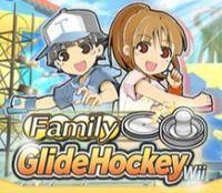 Portada oficial de Family Glide Hockey para Wii