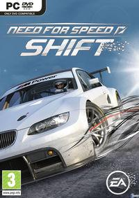 Portada oficial de Need for Speed Shift para PC