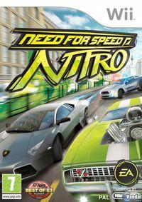 Portada oficial de Need for Speed Nitro para Wii