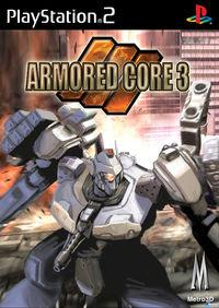 Portada oficial de Armored Core 3 para PS2
