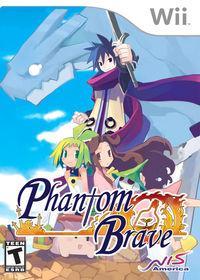 Portada oficial de Phantom Brave para Wii