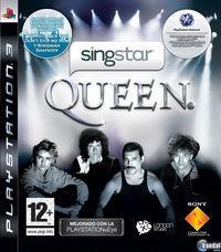 Portada oficial de SingStar Queen para PS3